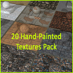 20 Hand-Painted Textures Pack