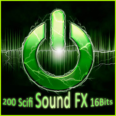 200 SciFi Sound FX 16 bits